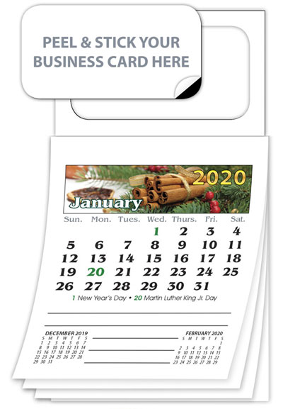 Magnetic Business Card Calendars Best