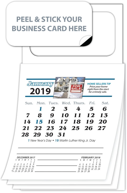Real estate business card calendar magnets best priced custom real estate business card calendar magnets reheart Choice Image