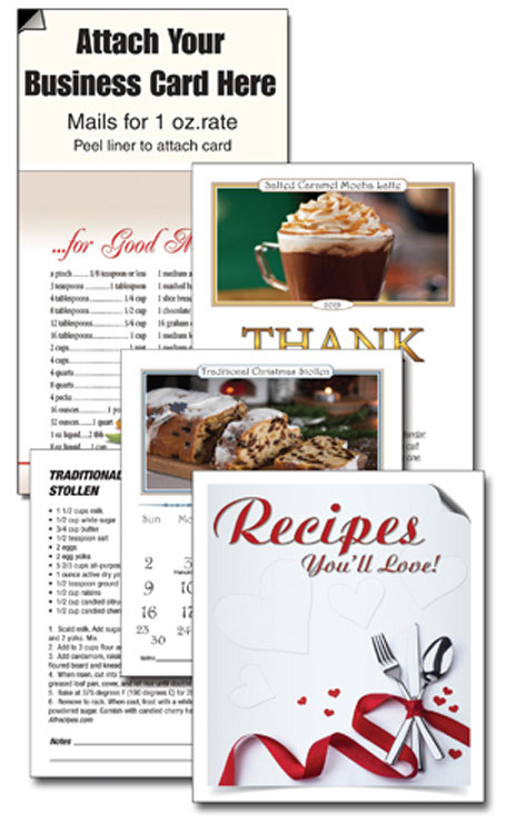 Recipes You'll Love-Magnetic Business Card Calendars - Best Priced